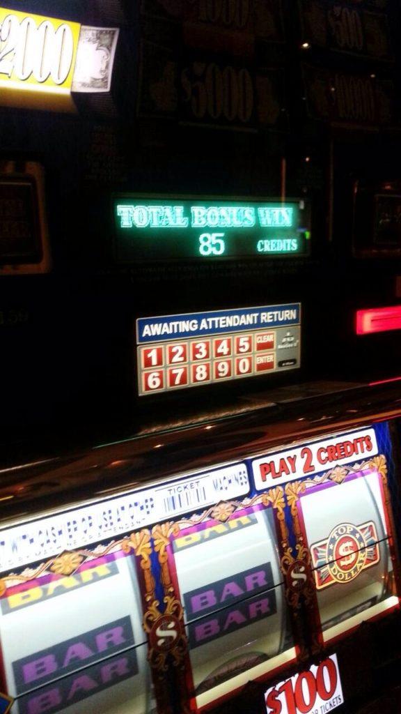 ラスベガス スロットマシン Top Dollar